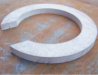雷火平台 ios厚板割圆